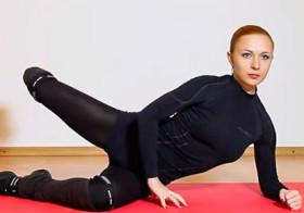 Екатерина Буйда и Комплекс упражнений «Чао Галифе»