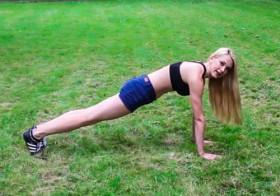 4 упражнения для стройного тела