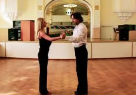 Урок танца — венский вальс