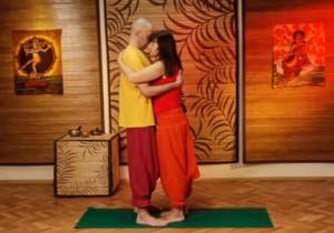 Парная йога - исходное положение