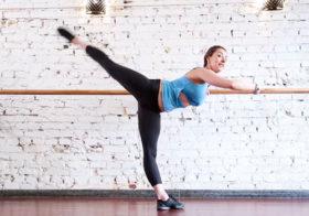 Занятие боди балет