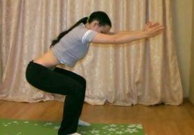 Упражнения бодифлекс для талии с Анной Ванлее