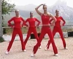 Видео уроки танцевальной аэробики - с 1 по 10 уроки