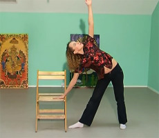Йога для офиса с Любовь Ярко - простые позы