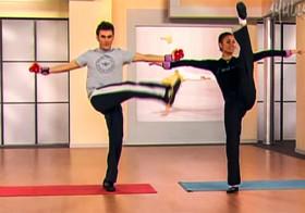 Упражнения для похудения и растяжки от Ляйсан Утяшевой