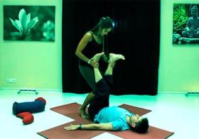 Парная йога - занятие школы Ваджра