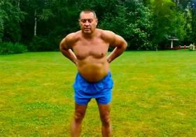 Герман Тюхтин - упражнения для поясницы