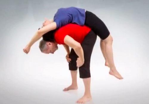 Занятия по парной йоге с  Александром Ласточкиным (12 видео уроков)