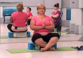 Йога для полных - 3 видео урока