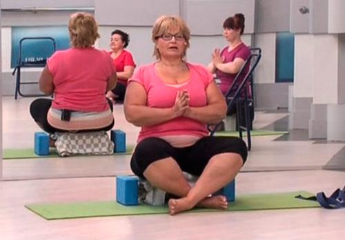 Йога для полных — 3 видео урока