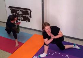 Йога для пожилых - часть 2