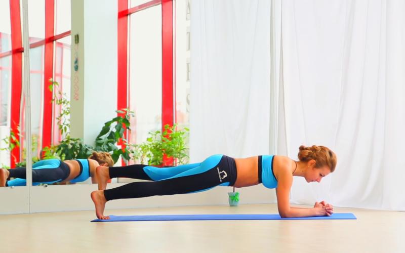 Упражнения для похудения: тренировка мышц живота и боков