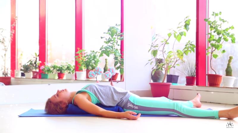 Упражнения во время месячных - дыхание