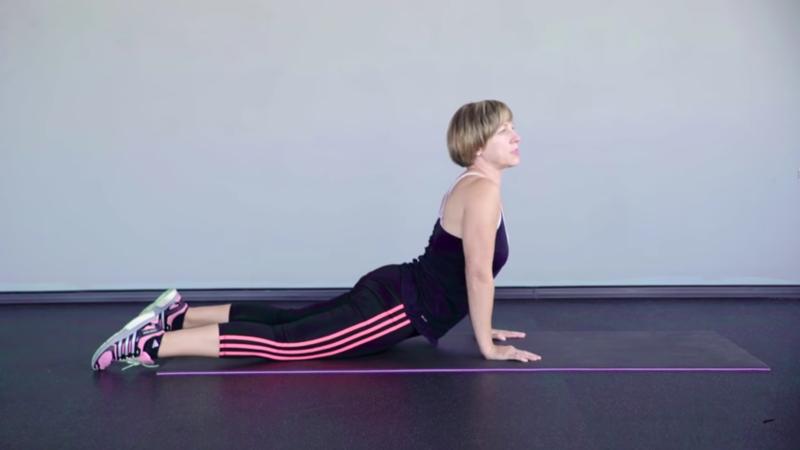 Женские упражнения  на похудение - отдых, растяжка